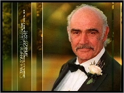 Sean Connery, czarny garnitur
